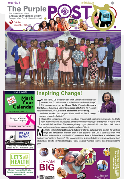 The Purple Post Newsletter
