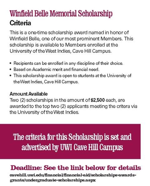 Apply for UWI Scholarships HERE