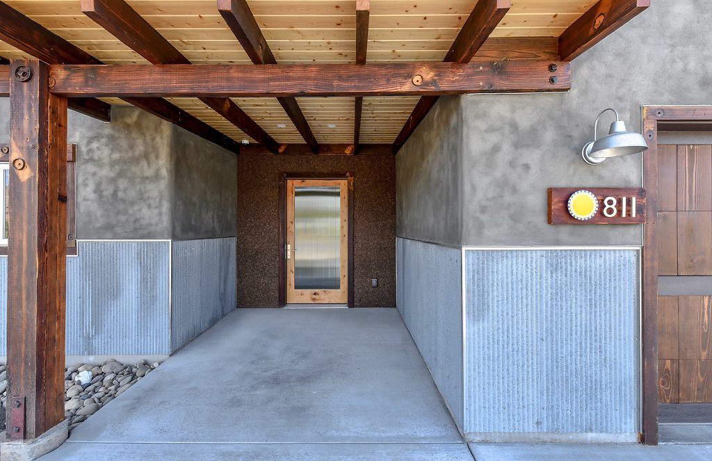 010-SVH SMALL Front Entry with Cork Reclaimed Wood and Galvanized Metal.jpg