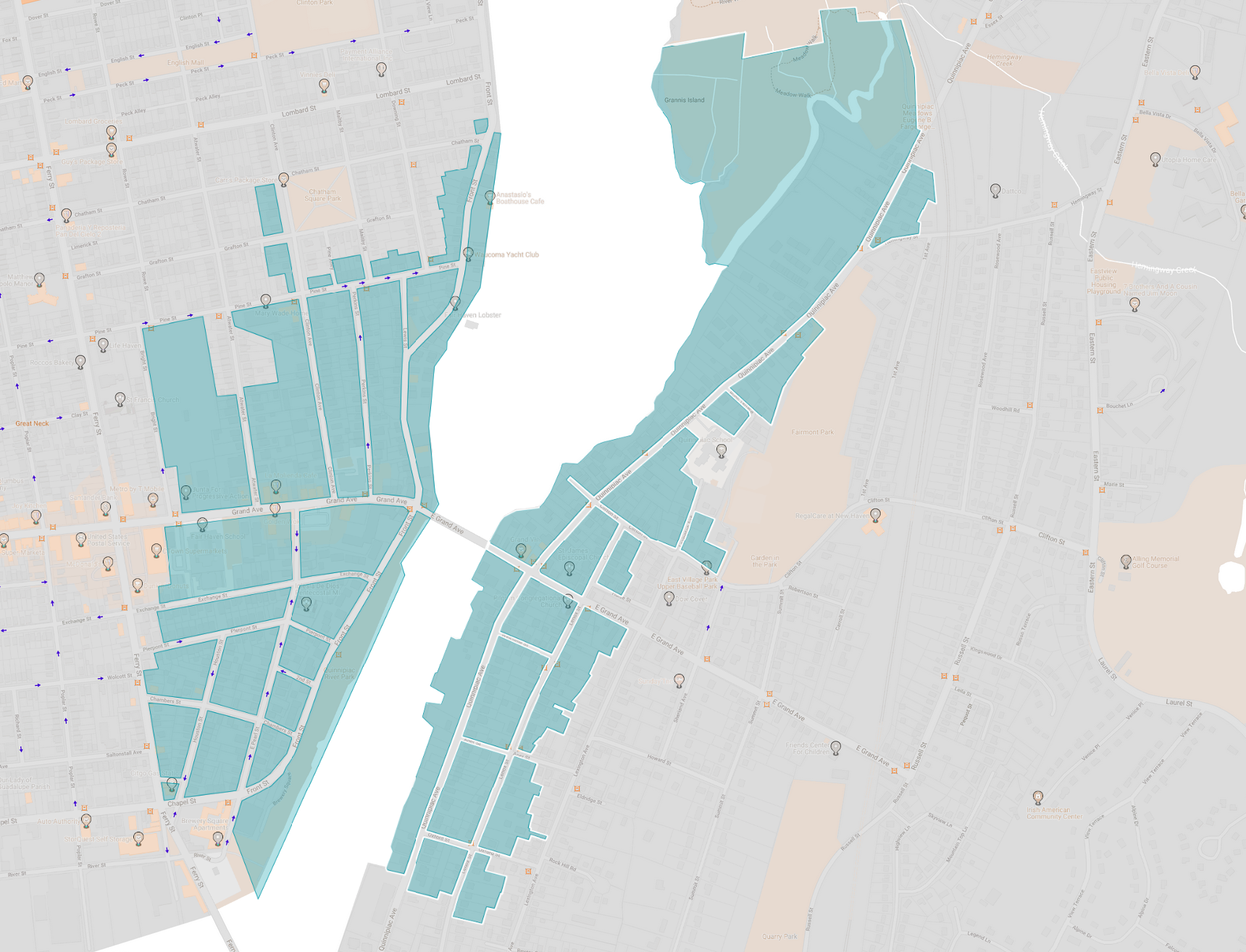Explore New Haven's historic districts  HERE