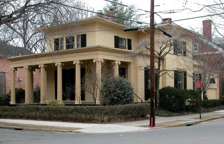 Everard Benjamin House, 232 Bradley Street, 1838.