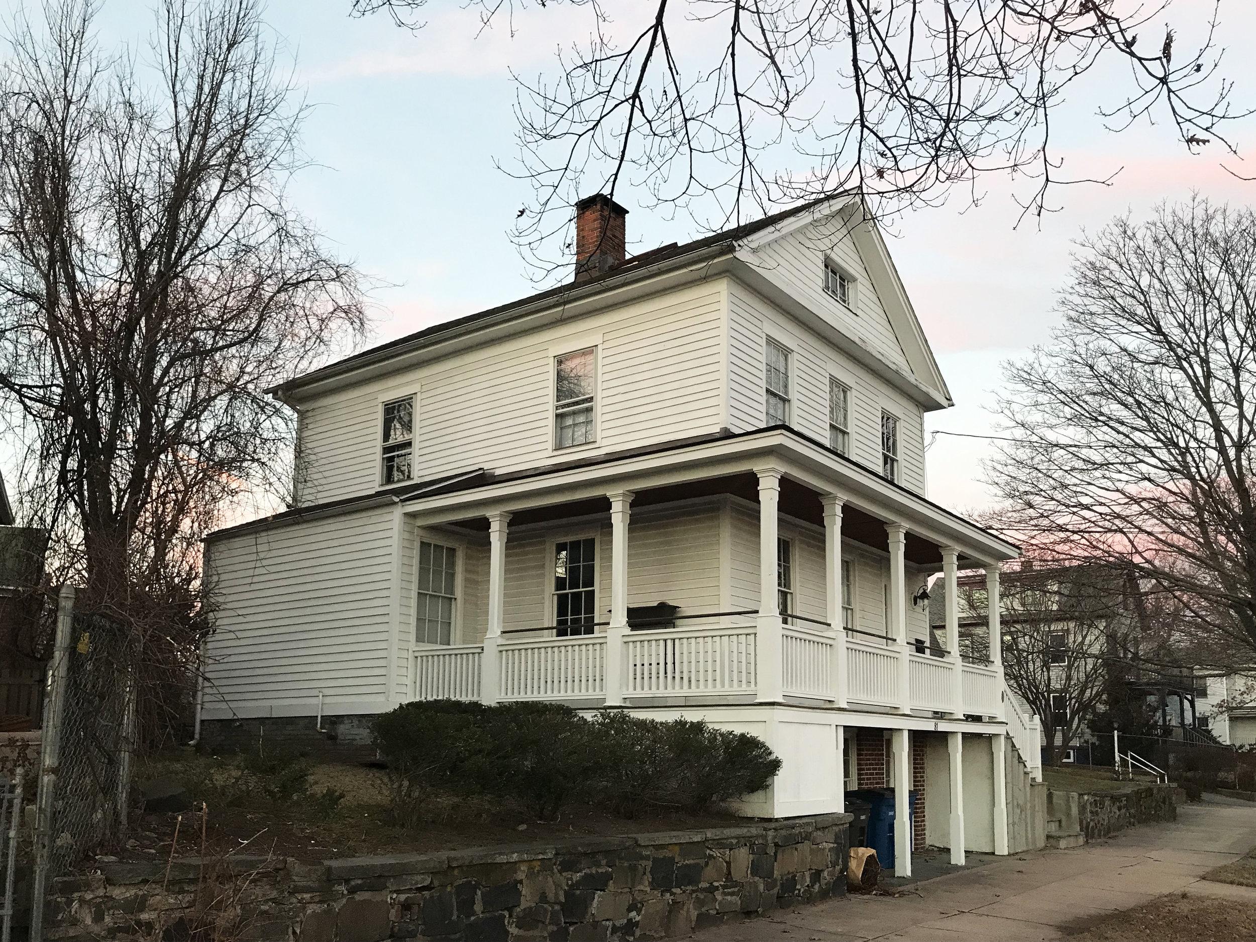 Alexander Foote House, 81 South Water Street, c. 1855.