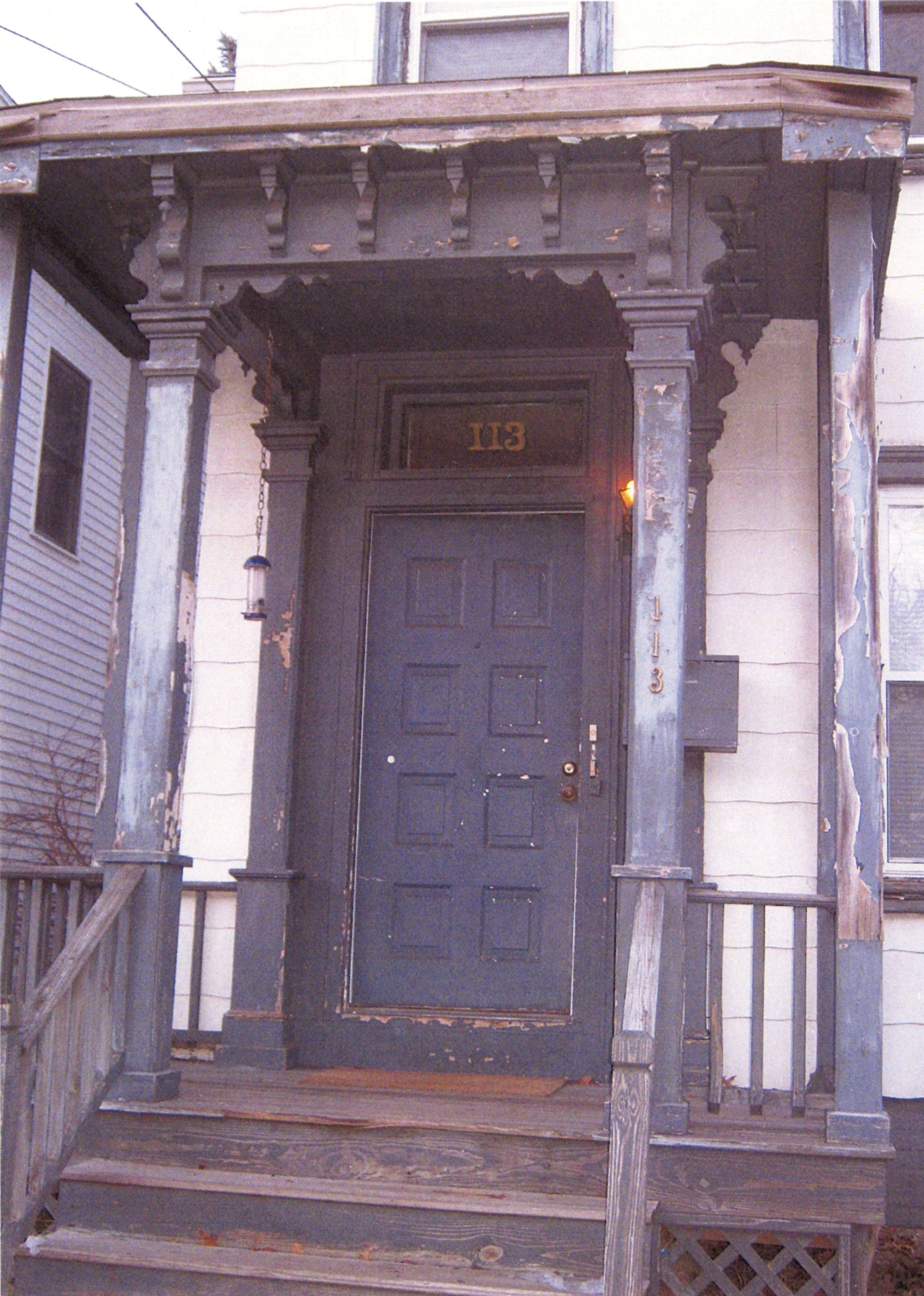 Before : 113 Lawrence Street