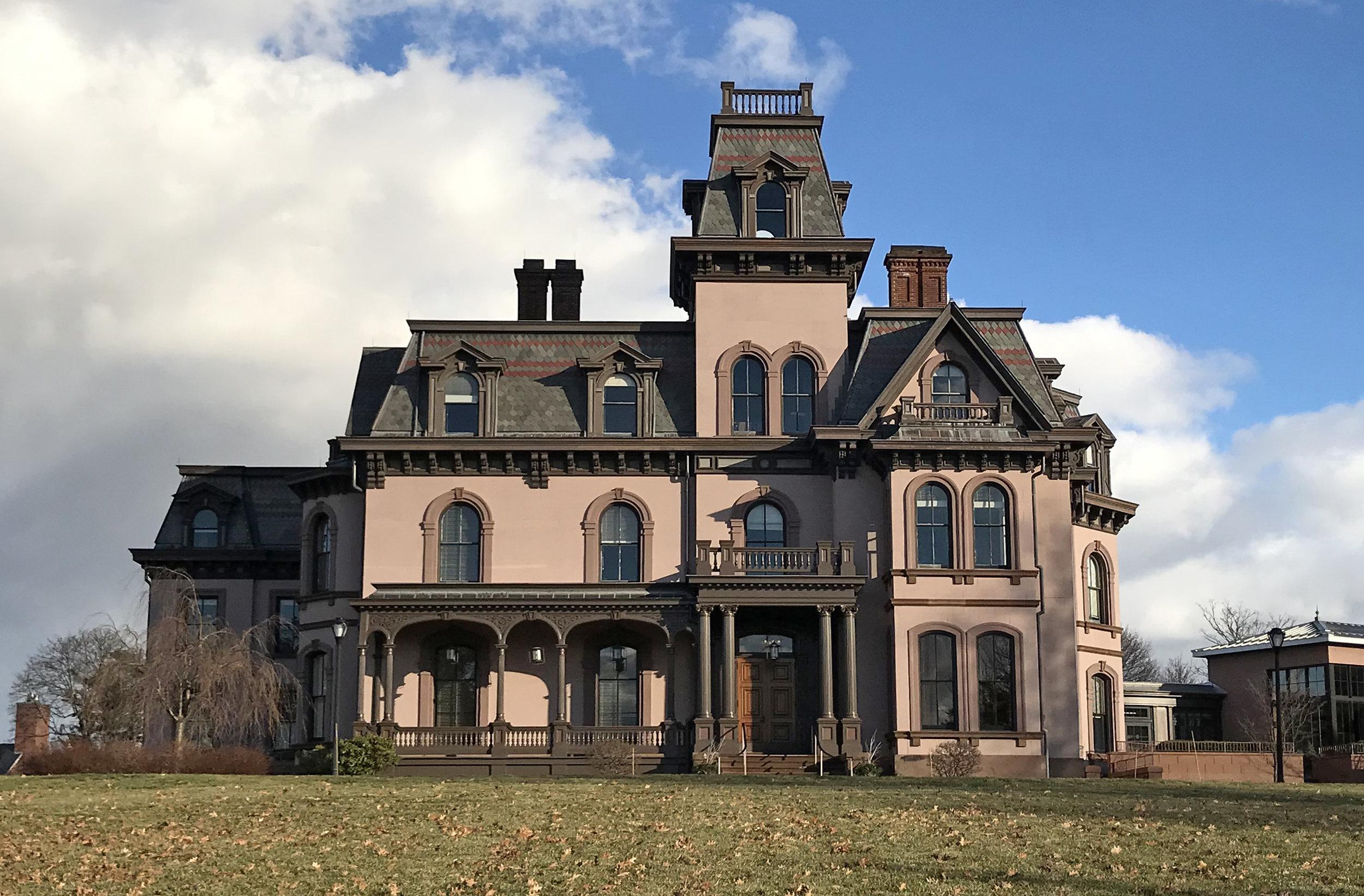 John Davies Mansion, 393 Prospect Street. Architects: Henry Austin and David R. Brown, 1868.
