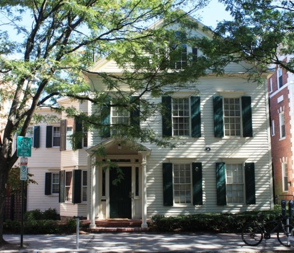 Rev. Jedidiah Morse House, 320 Temple Street, c. 1820.