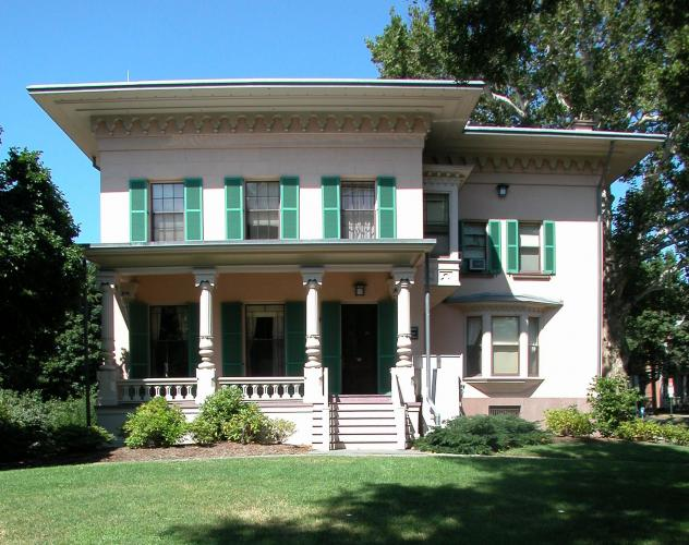 New Haven Colony Historical Society, 114 Whitney Avenue. Architect: J. Frederick Kelly, 1929.