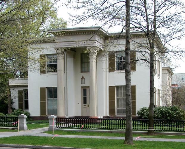 John P. Norton House, 52 Hillhouse Avenue. Architect: Henry Austin, 1848-49.
