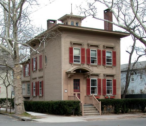 Charlotte Smith/Lucien Sperry House, 223 Bradley Street, 1880.