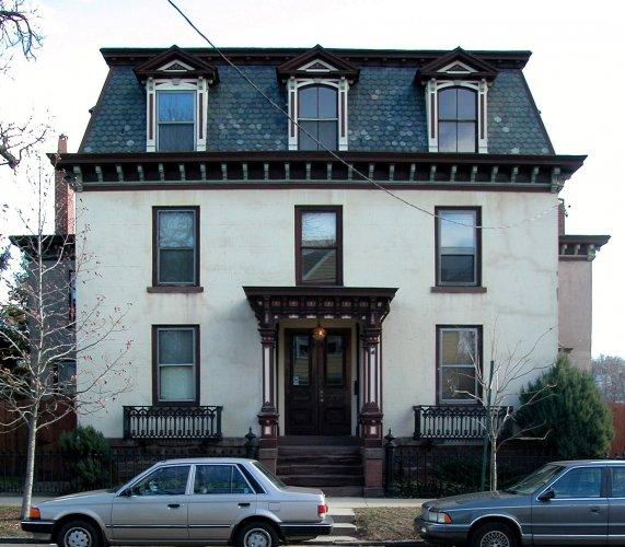 Samuel Hemingway House, 37 East Pearl Street, c. 1852.