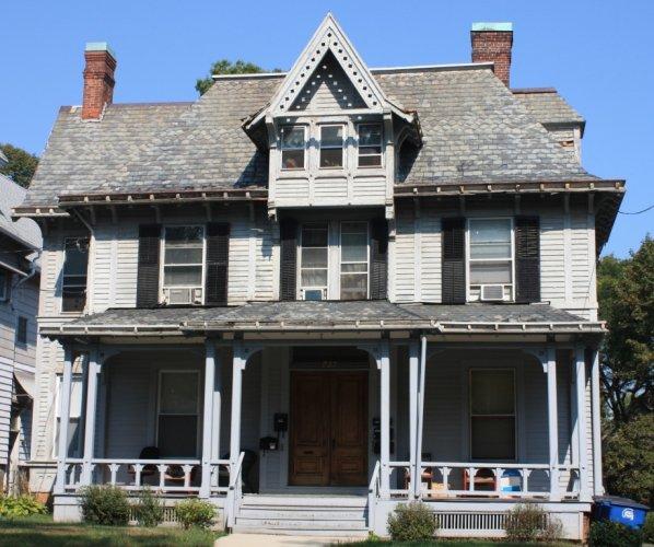 Samuel York House, 233 Edwards Street, 1867.