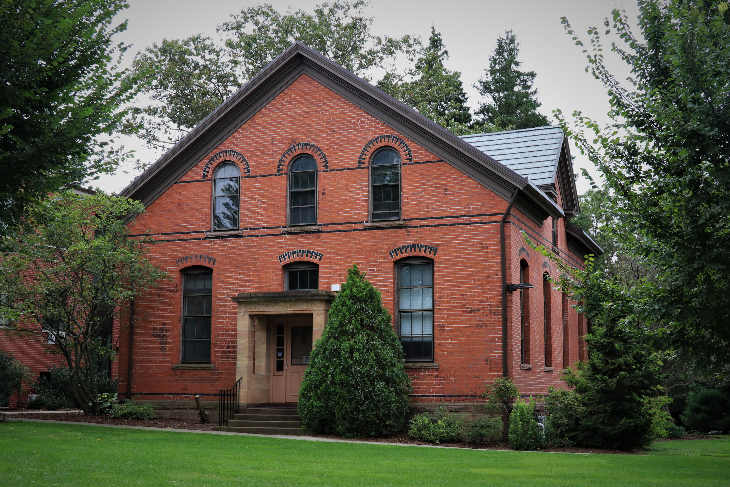 Connecticut Agriculture Experiment Station: Osborne Library, 123 Huntington Street, 1882-83.