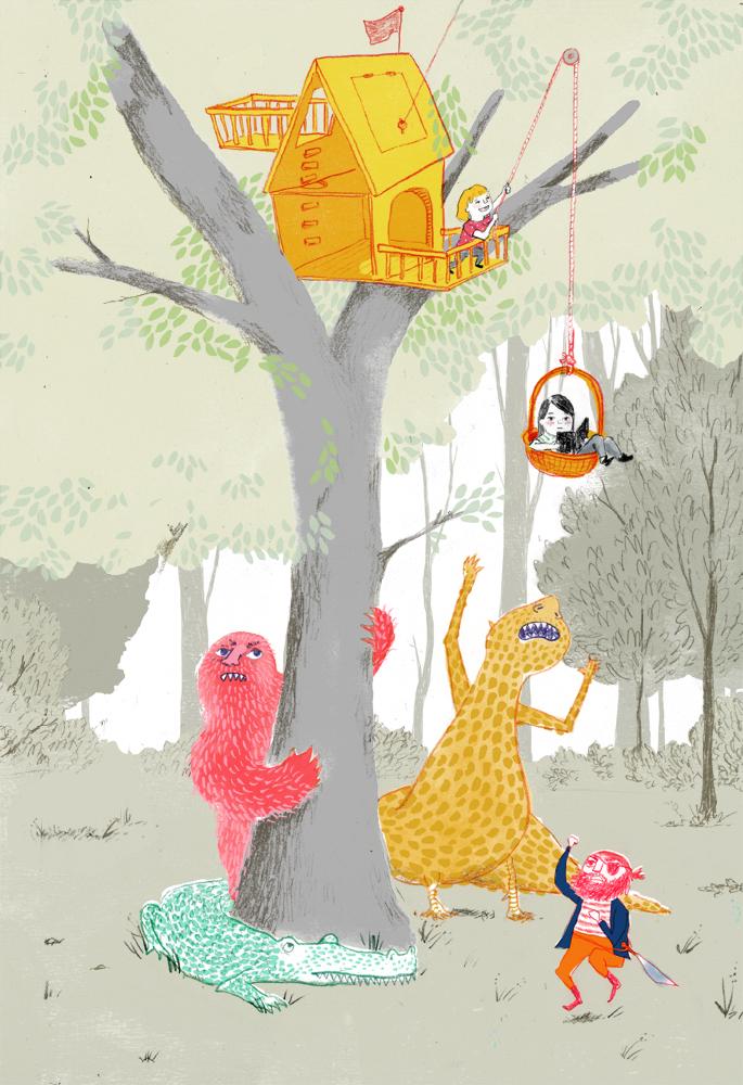 09 Farley Secret Tree Fort monsters.jpg