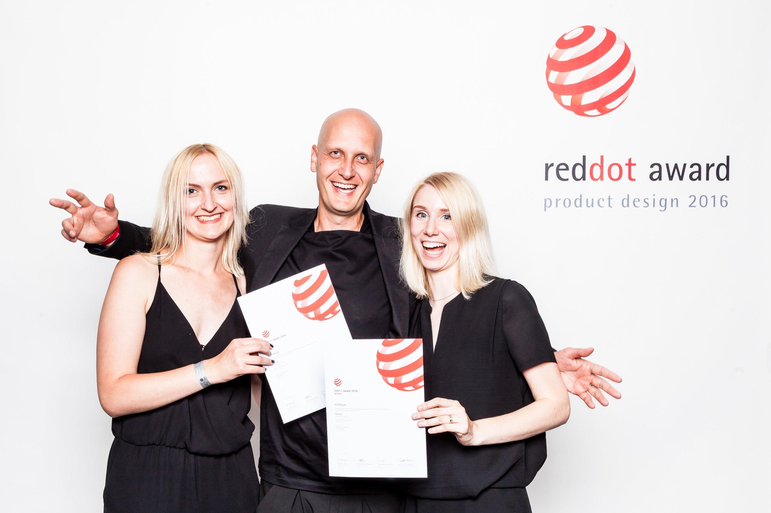 RedDot Award Product Design 2016