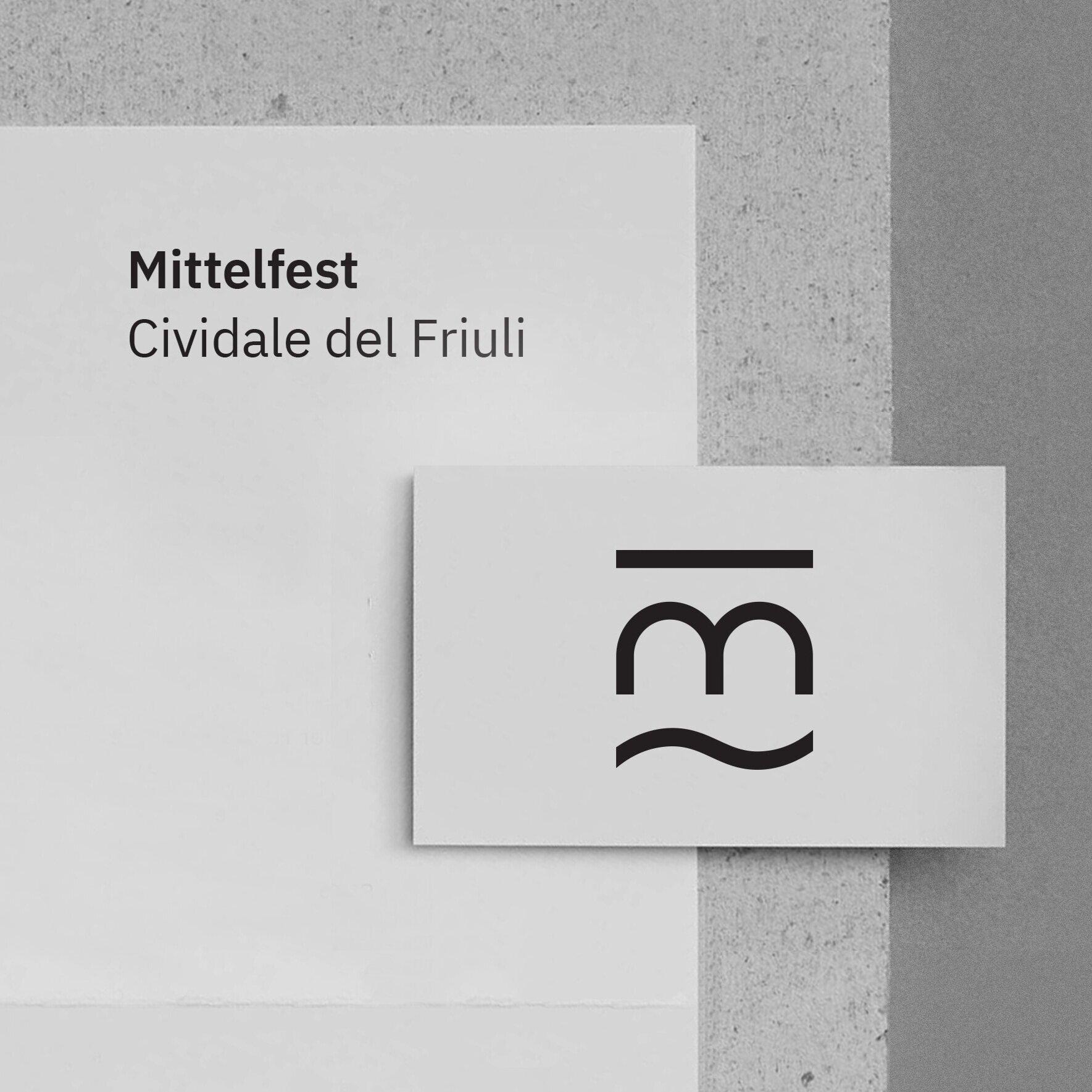 Mittelfest  Identity design