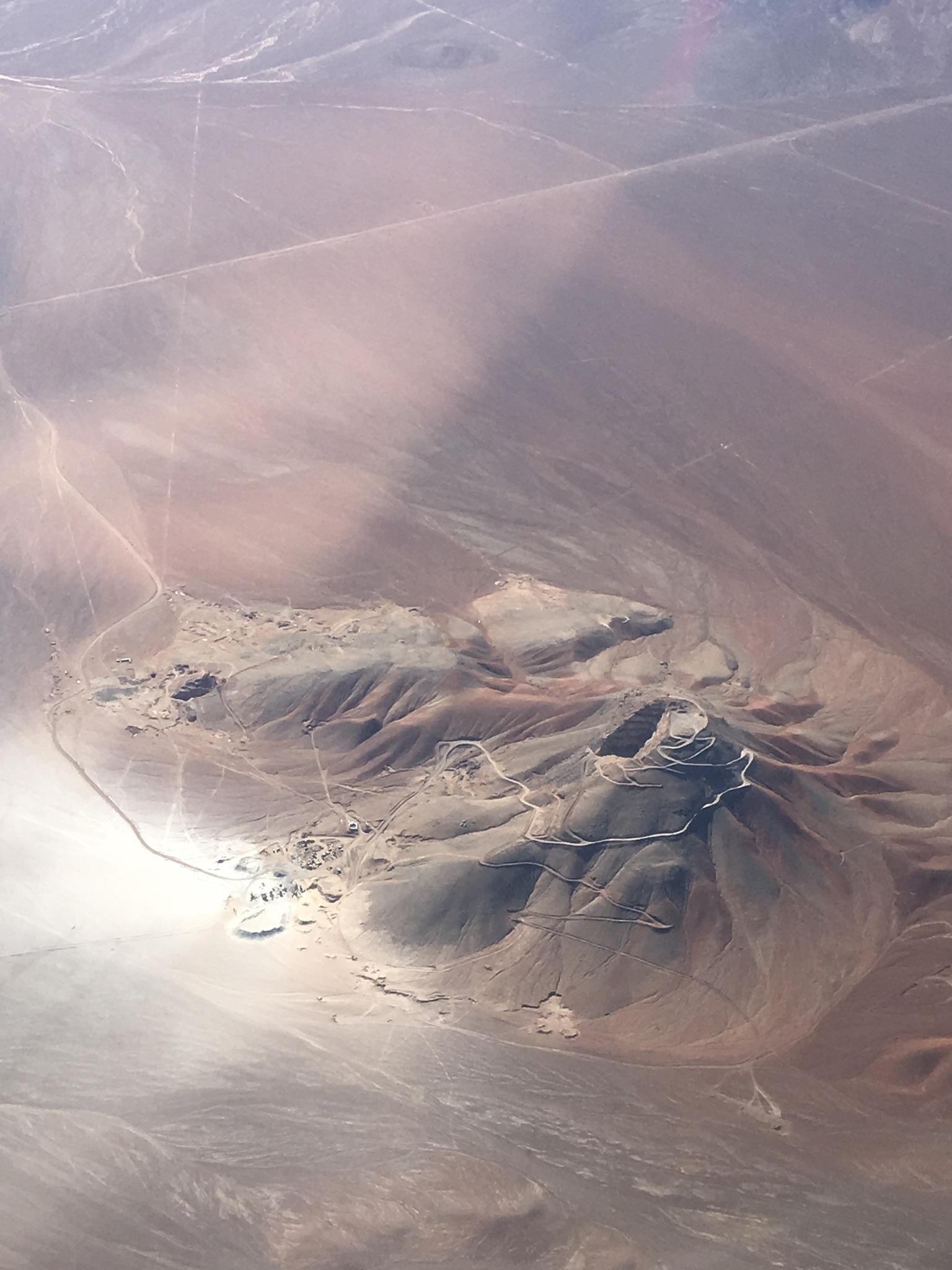 Aerial View of Atacama Desert,  Hannah Rowan.