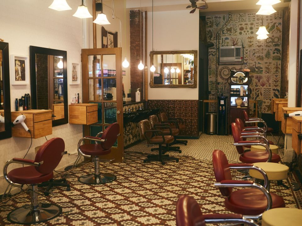 Named absolute best hair salon New York City by Jetsetter Magazine