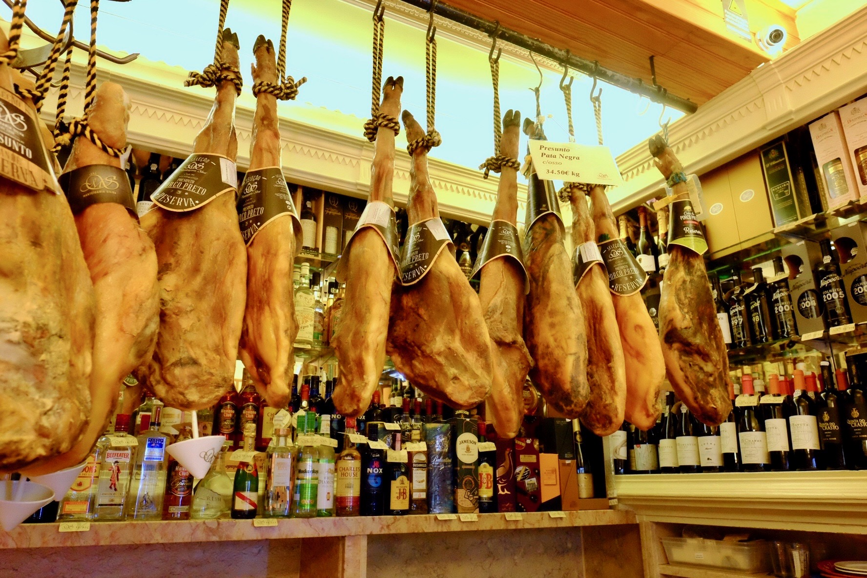 Jamon Iberico in Lisbon on food tour   .jpeg