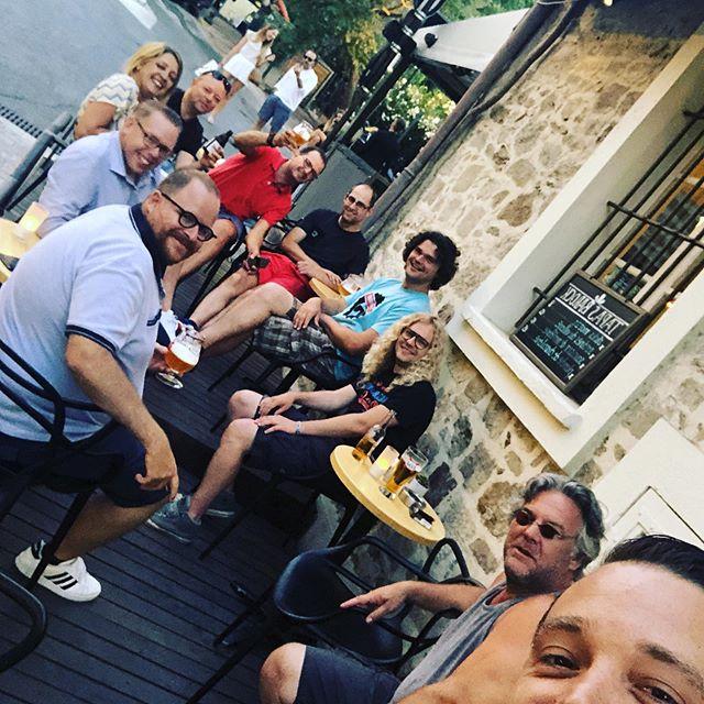 Les Quaffeurz sans Bartolomeüs á Saint-Tropez! #fêtesdesbelges #sainttropez #100eurotourneetjes