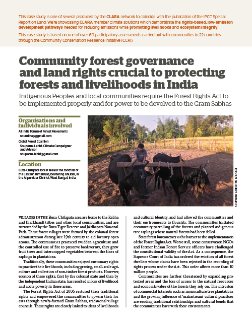 Global Forest Coalition - India