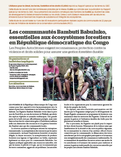 Global Forest Coalition - DRC - FR