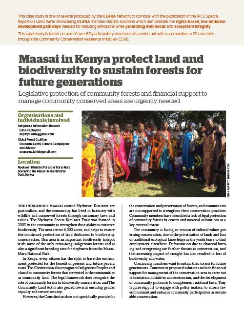 Global Forest Coalition - Kenya