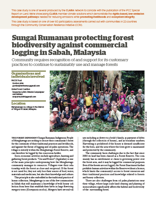 Global Forest Coalition - Malaysia
