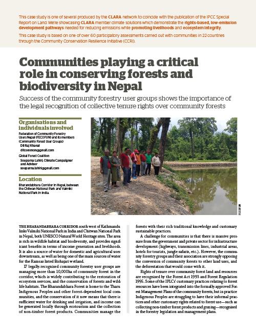 Global Forest Coalition/FECOFUN - Nepal