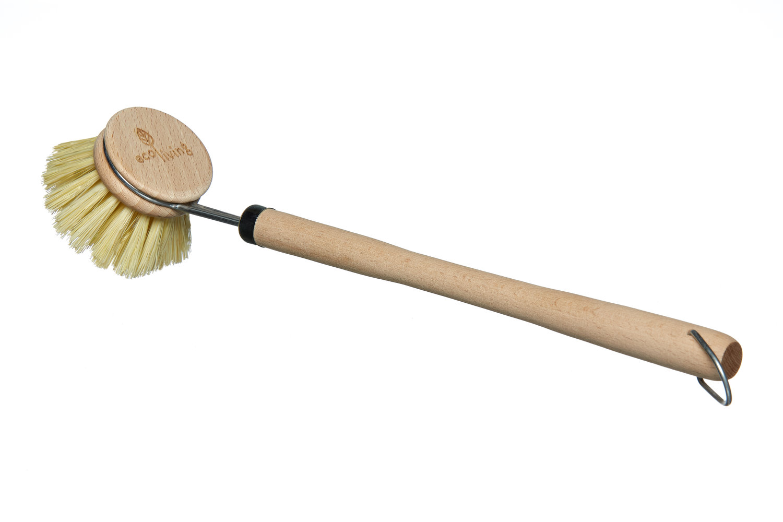 Natural dish brush
