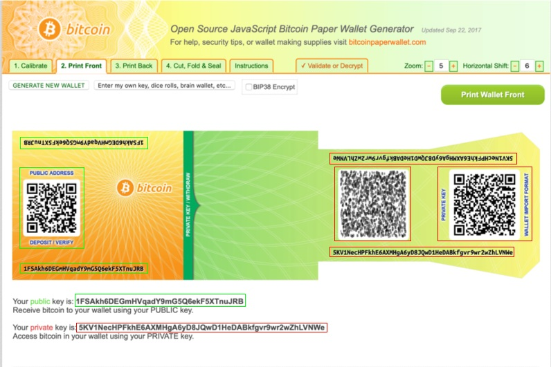 Portefeuille papier bitcoins infobetting forum ctd