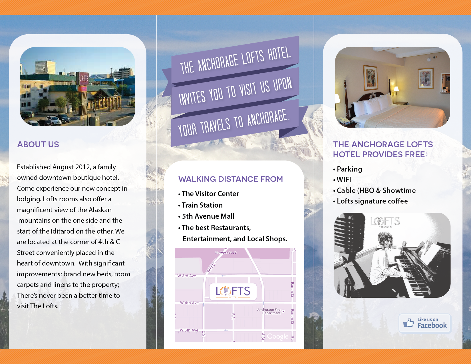 Brochures - The LOFTS Hotel