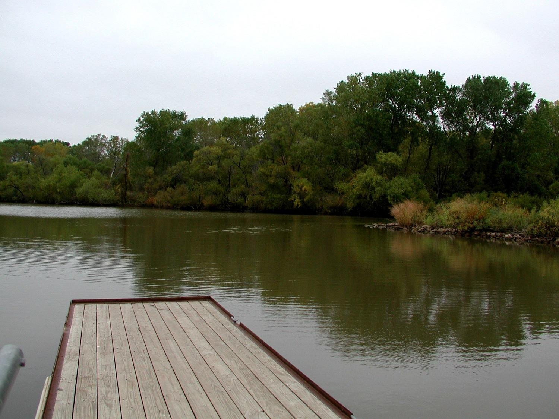Cheney Reservoir fishing pier