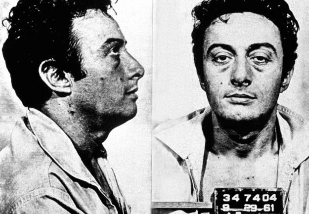 Lenny Bruce pictured here clearly not giving a fuck