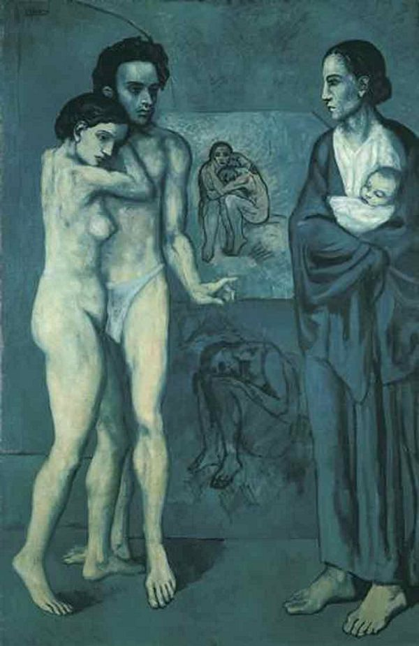 La Vie, 1903, oil on canvas