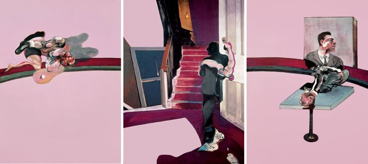 Francis Bacon  Triptych – In Memory of George Dyer  1971 , oil on canvas