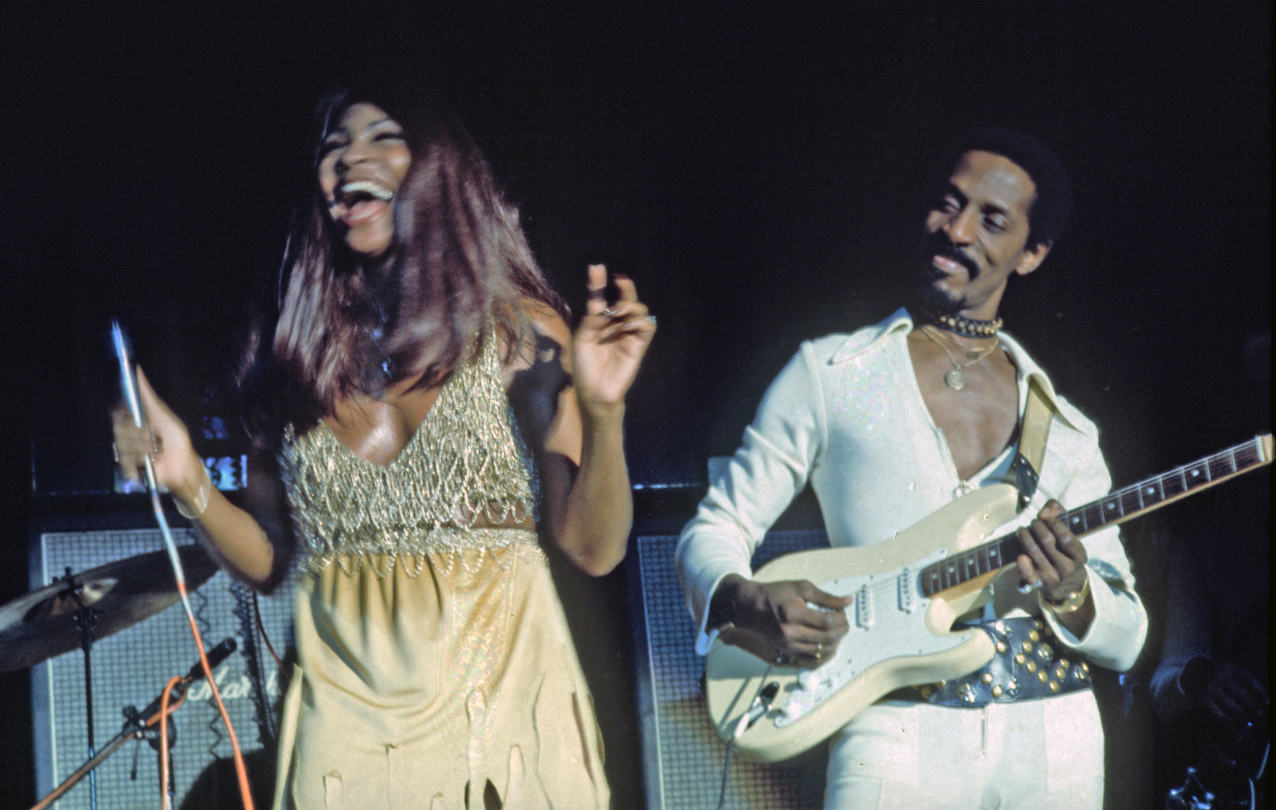 Tina Turner and her husband - Two musicians. One shoe stretcher. One strong, independent woman who don't need no man.