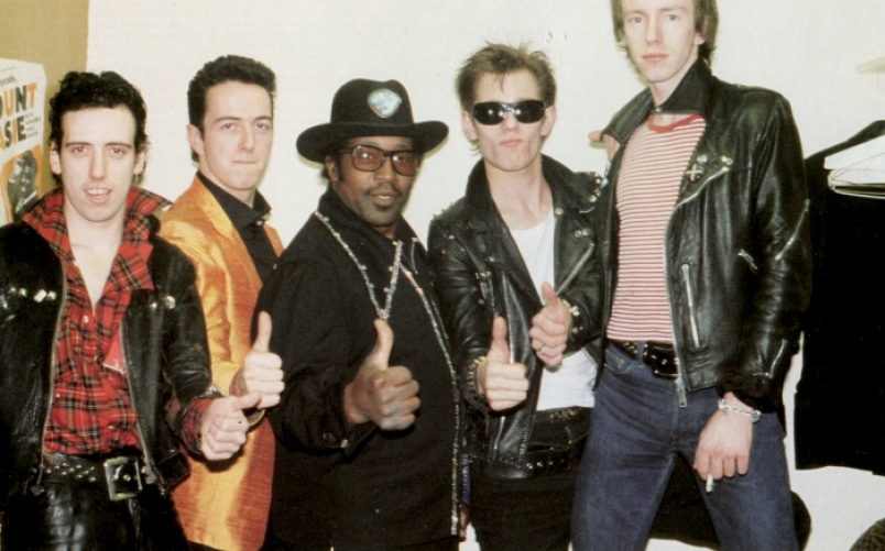 The Clash featuring Bo Diddley!