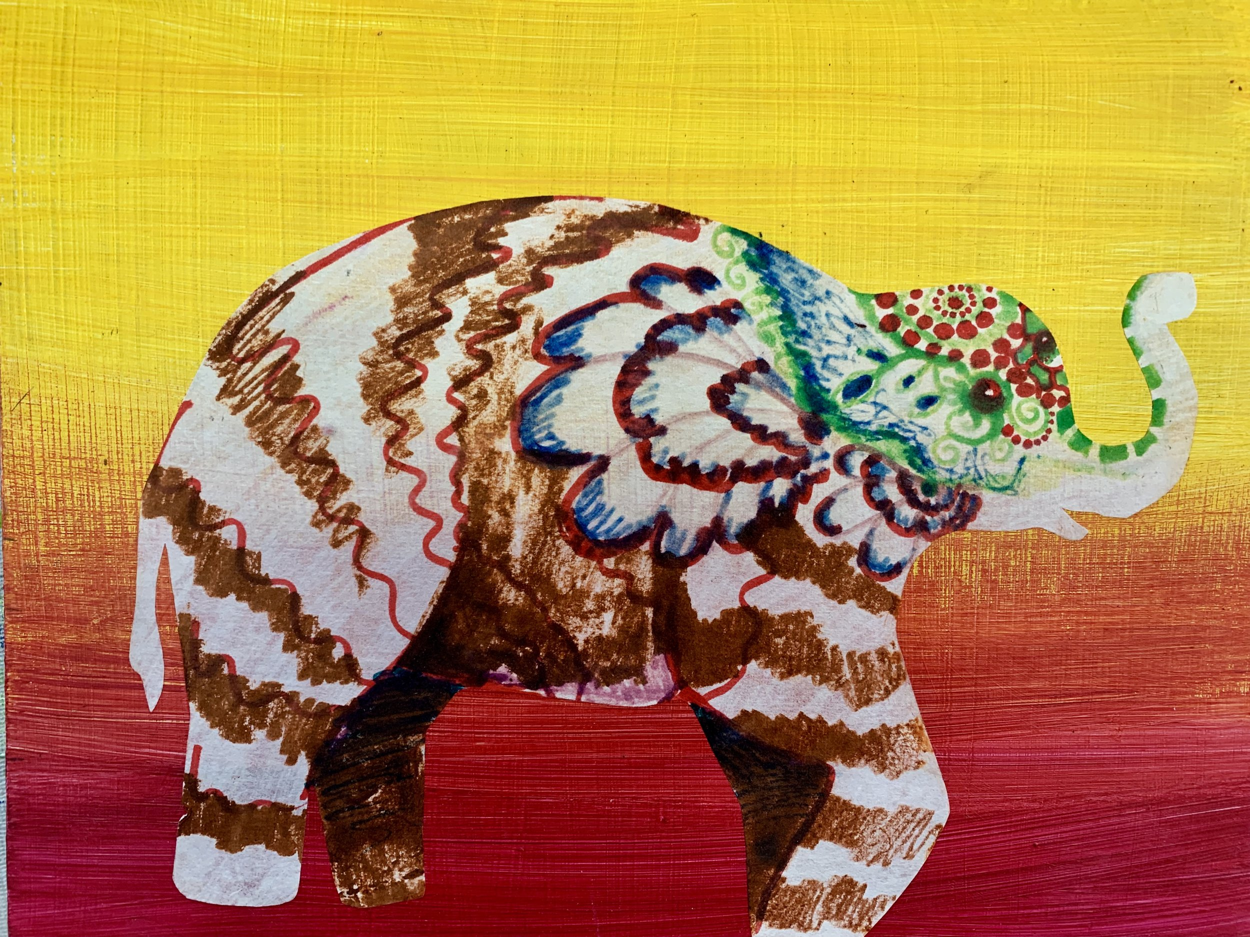 Elephant from Nepal