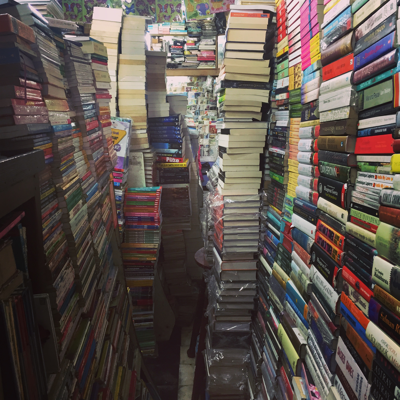 The eternally-amazing Cambridge Book Store in Mussoorie