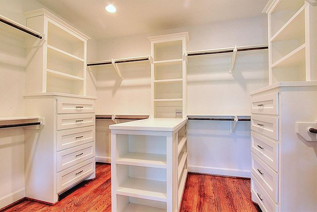 A dream of a closet! Take a look at this elegant yet highly functional closet. Finding a balance between practicality and design is of utmost importance to Urban Craftsman. We aim to go above and beyond to please all of our clients. Contact us today at 713-369-0999; or at info@urban-craftsman.com, so we can begin building your dream closet or entire home! #urbancraftsman #urbancraftsmanhtx #closetinspiration #customhomestx #buildinhouston