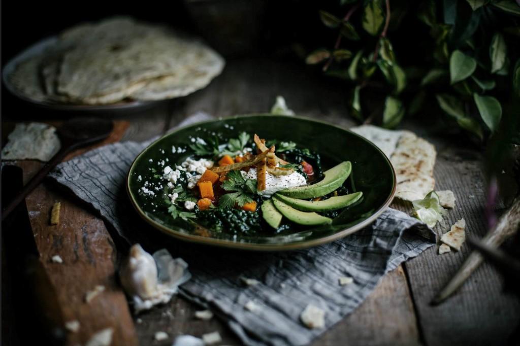 Vegetarian Indian Plates