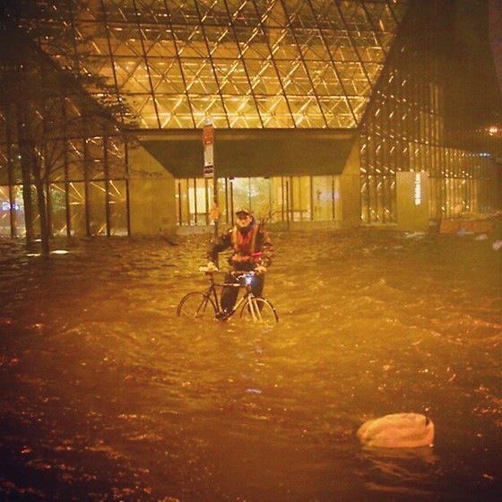 Hurricane Sandy hit New York City three years ago today.
