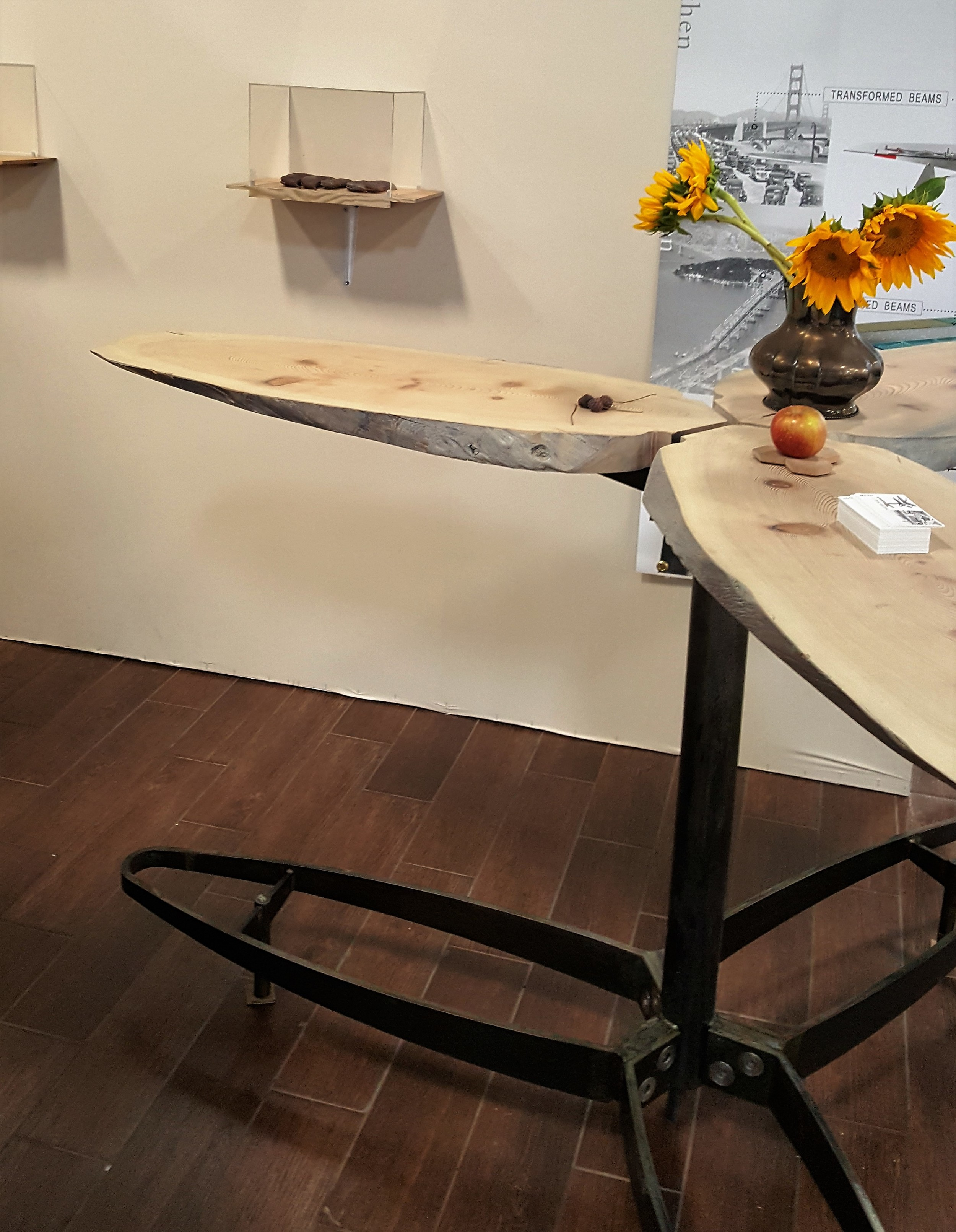 CATEGORY: FURNITURE  Propeller Table by Krivens Partners