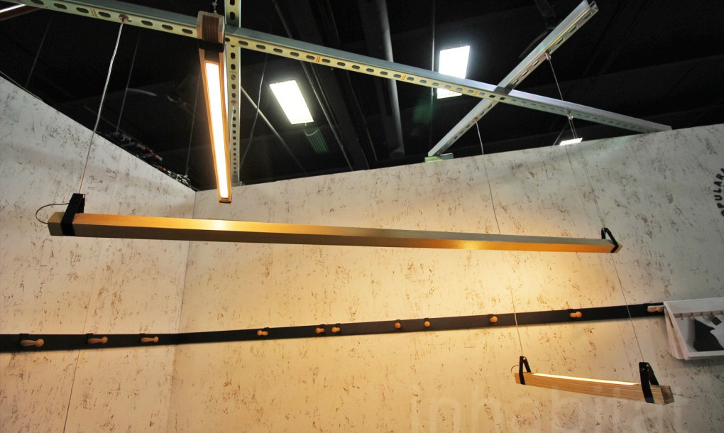 CATEGORY: LIGHTING  Downside up LED Suspension Light by Popular Architecture