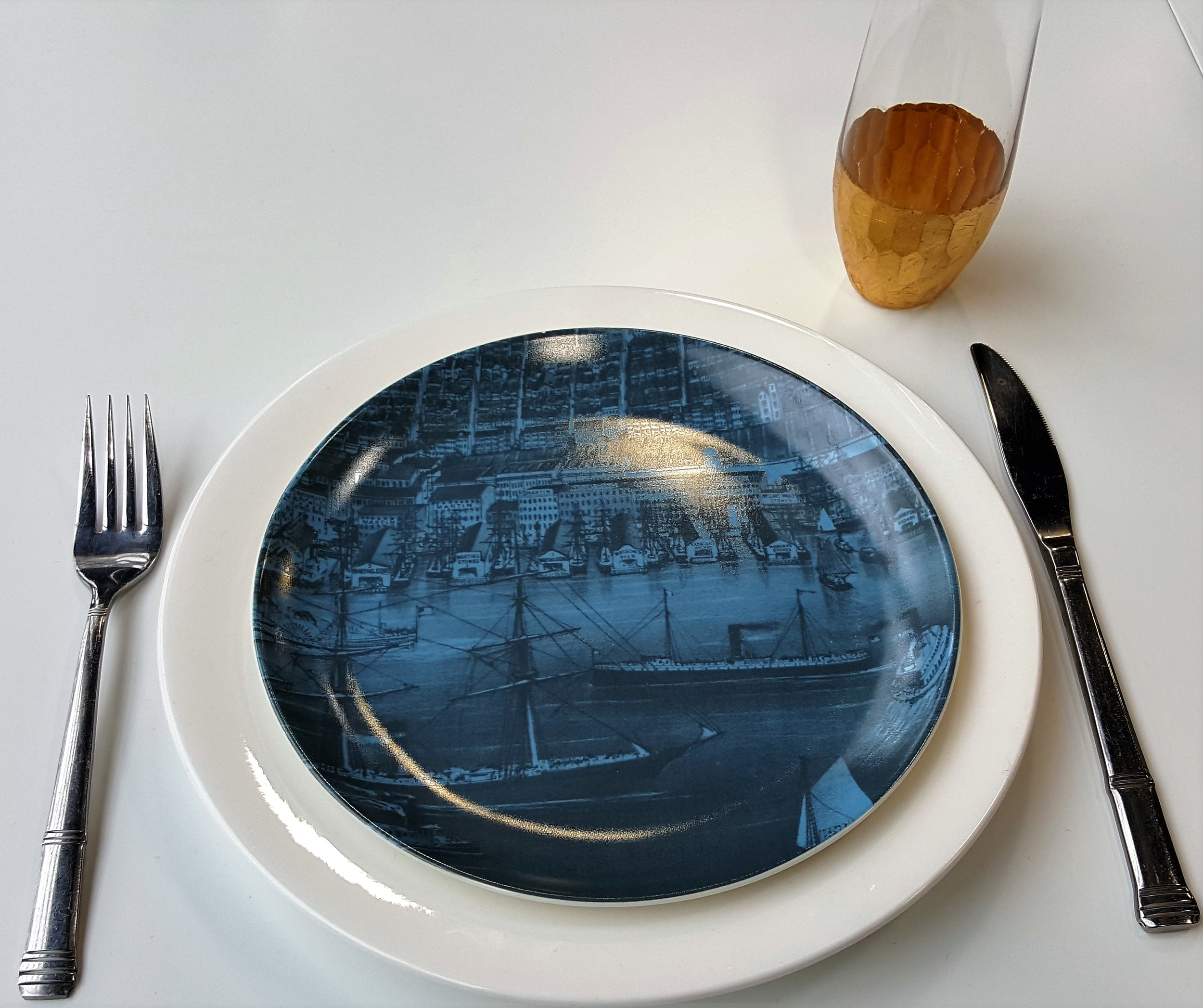 CATEGORY: TABLETOP  Brooklyn Plates by Think Fabricate