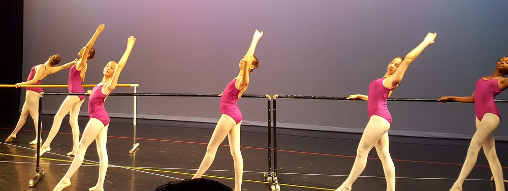 A 2-week ballet intensive was my 12-year-old's working vacation.