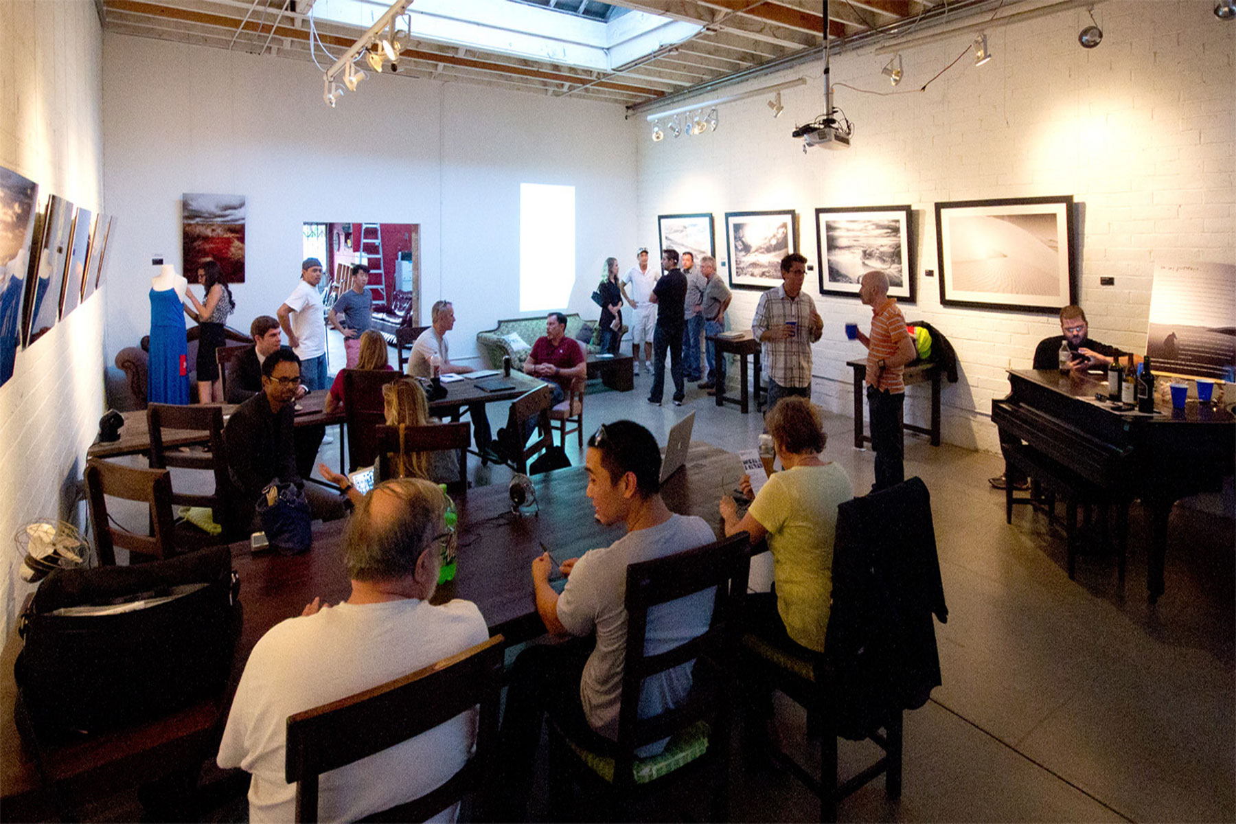 3rd Space host numerous performances and social events for its community.Photo: San Diego Coworking Association