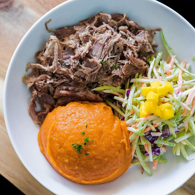 Our Kalua Pulled Pork is like a bite of Hawaiian goodness without the trip to Hawaii 🌸 But a trip to Hawaii wouldn't be so bad either, right? . Menu closes Friday at 8am friends! . . .  #lakenorman #lakenormanlife #lakenormanliving #lakenormaneats  #lakenormanstatepark #visitlakenorman #lakenormannc #lakenormanfood #lakenormanfoodie #food #foodie #paleo #fitliving #healthyeats #fitfood #crossfit #cleaneating  #cltnc #cltfood #cltfoodie #cltfoodies #cltfoodbloggers  #charlottencfood #foodprep #foodprepping #glutenfree #discoverCLT #queencity #sweatnet
