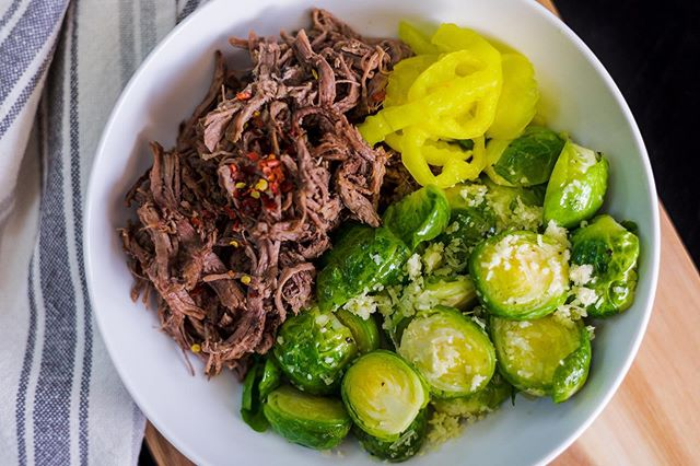 Always a big hit in our kitchen and yours - KETO ITALIAN BEEF AND BRUSSELS - . Get it before it is gone this week! . . . #lakenorman #lakenormanlife #lakenormanliving #lakenormaneats  #lakenormanstatepark #visitlakenorman #lakenormannc #lakenormanfood #lakenormanfoodie #food #foodie #paleo #fitliving #healthyeats #fitfood #crossfit #cleaneating  #cltnc #cltfood #cltfoodie #cltfoodies #cltfoodbloggers  #charlottencfood #foodprep #foodprepping #glutenfree #discoverCLT #queencity