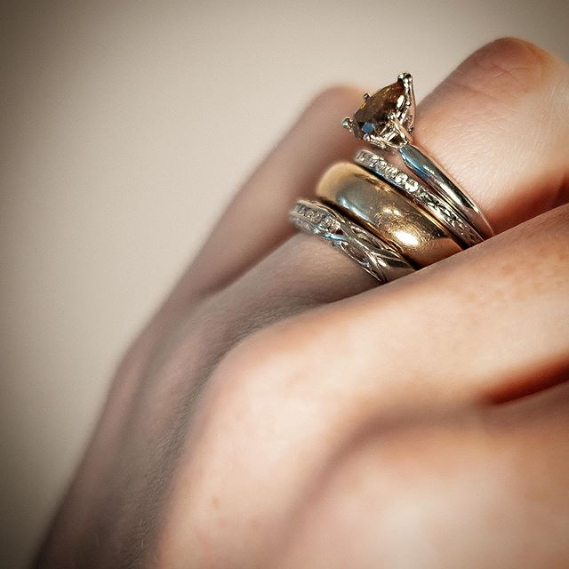 More is always more and there's nothing wrong with that! 😆😍 . All available and begging to be yours! Message me with questions and inquiries! For more jewelry, check out @revivalrings 🖤 . . . #revivalstudioco #revivalrings #ringstack #stackablerings #stackingring #vintageshop #vintagefashion #vintagejewelryforsale #antiquejewelryaddiction #showmeyourring #antiques_r_us #antiquejewels #antiquerings