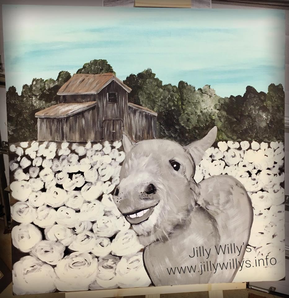 Happy Donkey - We met this sweet donkey at Reece Heritage Center Blairsville, GA